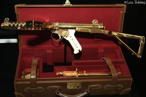 Gold Sterling Submachine Gun