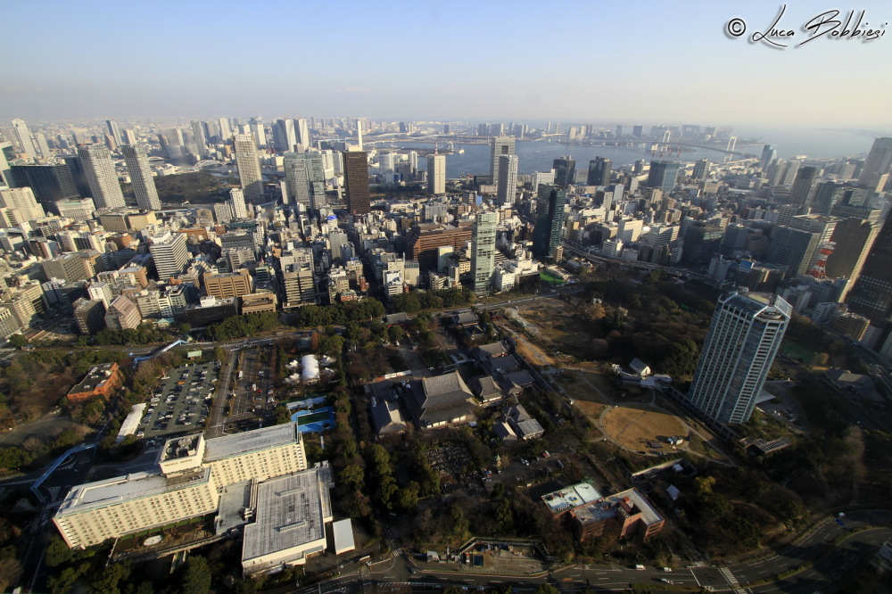 View Of East Tokyo