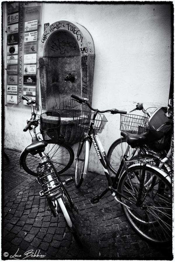 Bike & Fountain