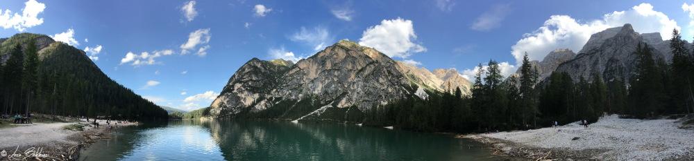 Panoramica sul Lago di Braies