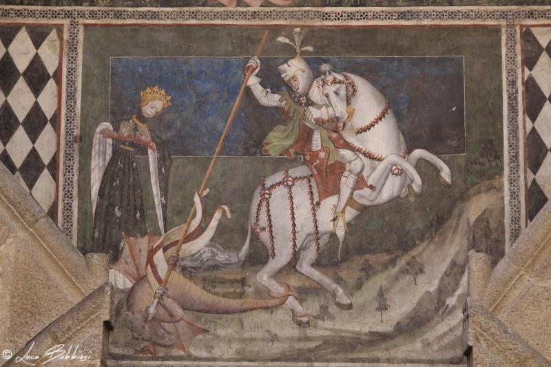 San Giorgio, il Drago e la Principessa