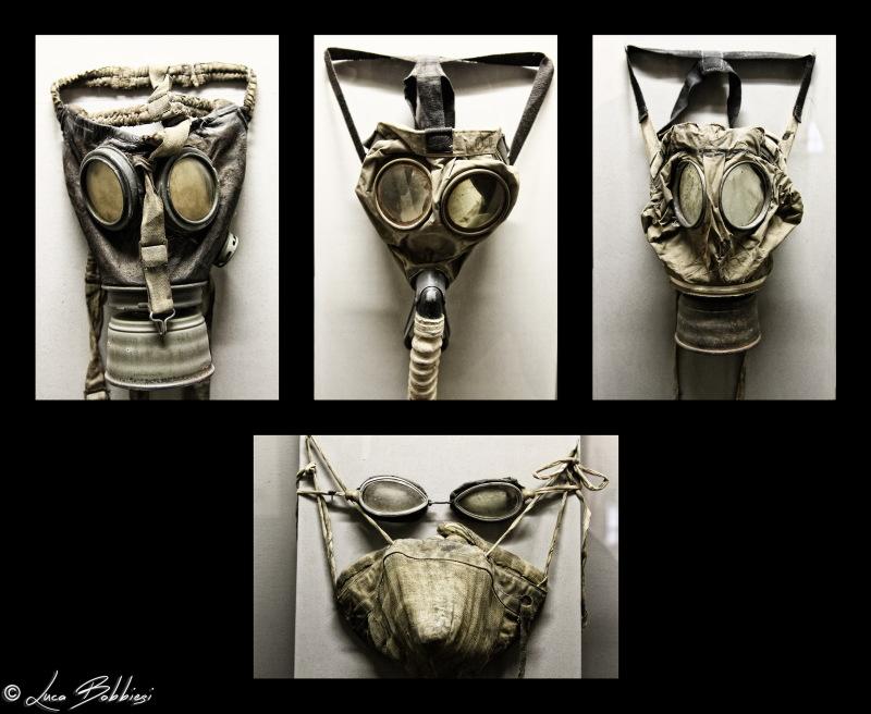 Antigas Mask Evolution