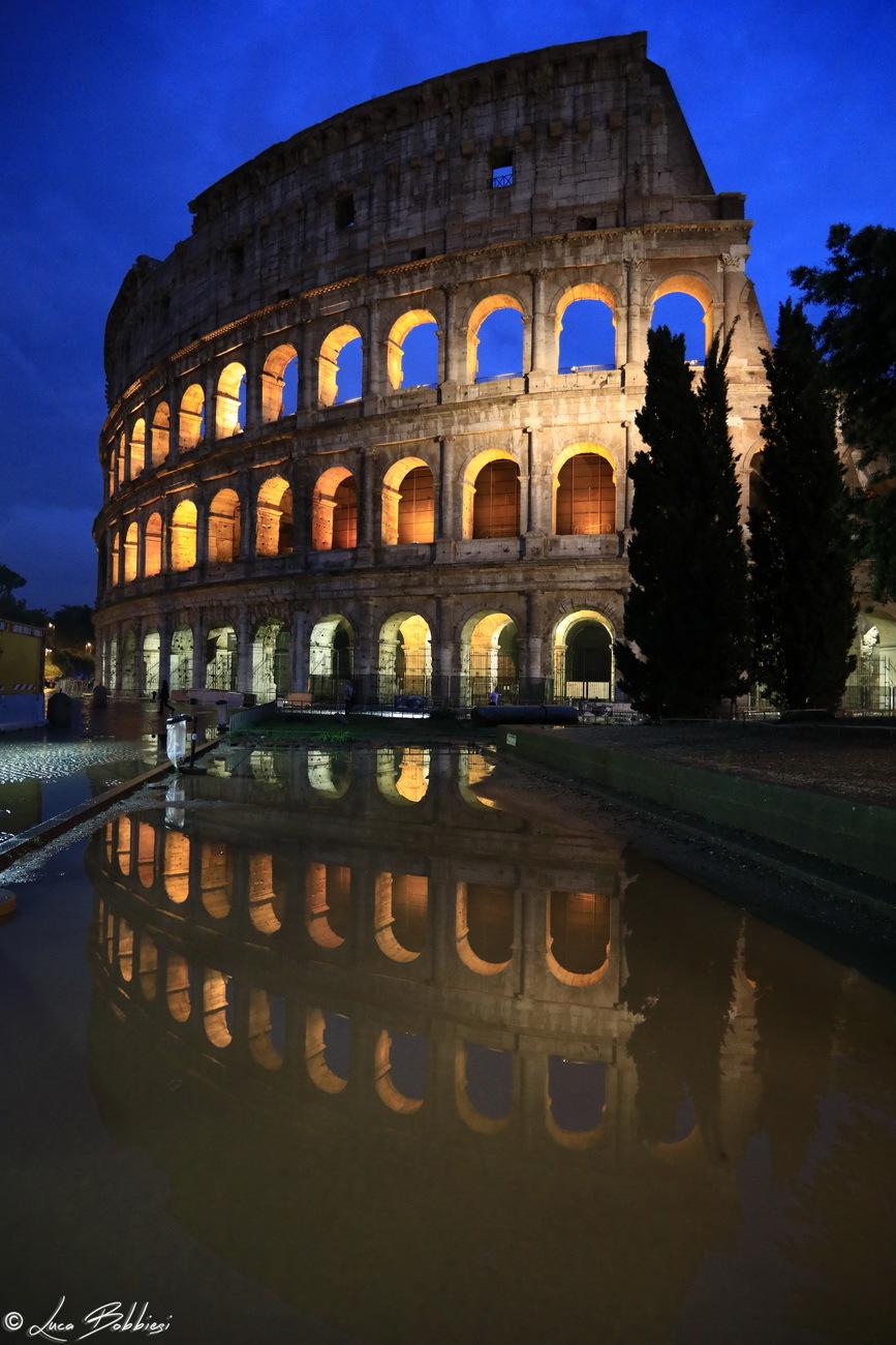 Colosseo e Riflesso