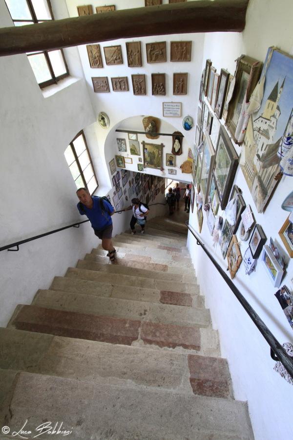 Scalinata del Santuario di San Romedio