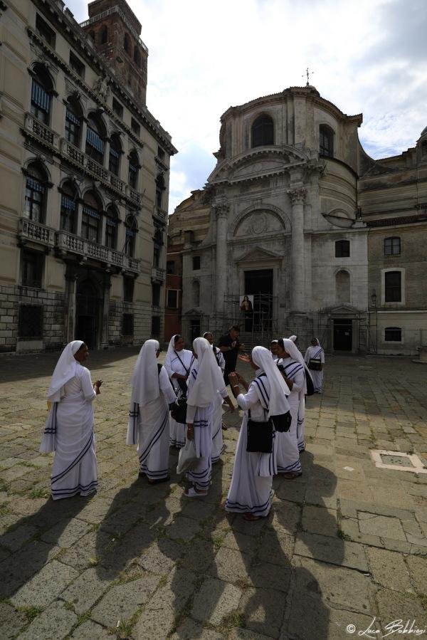 Nuns in Venice