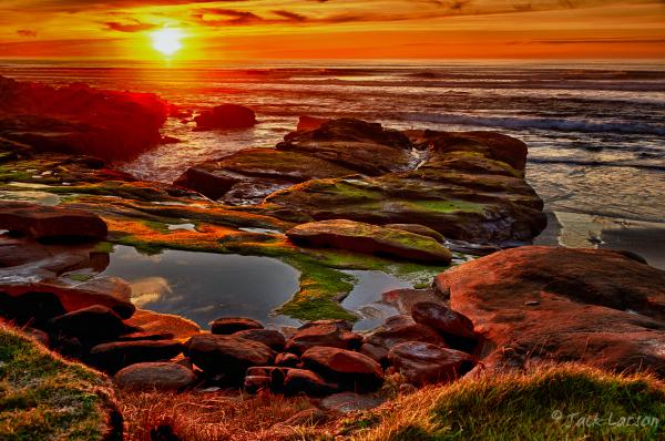 Gaudy Sunset