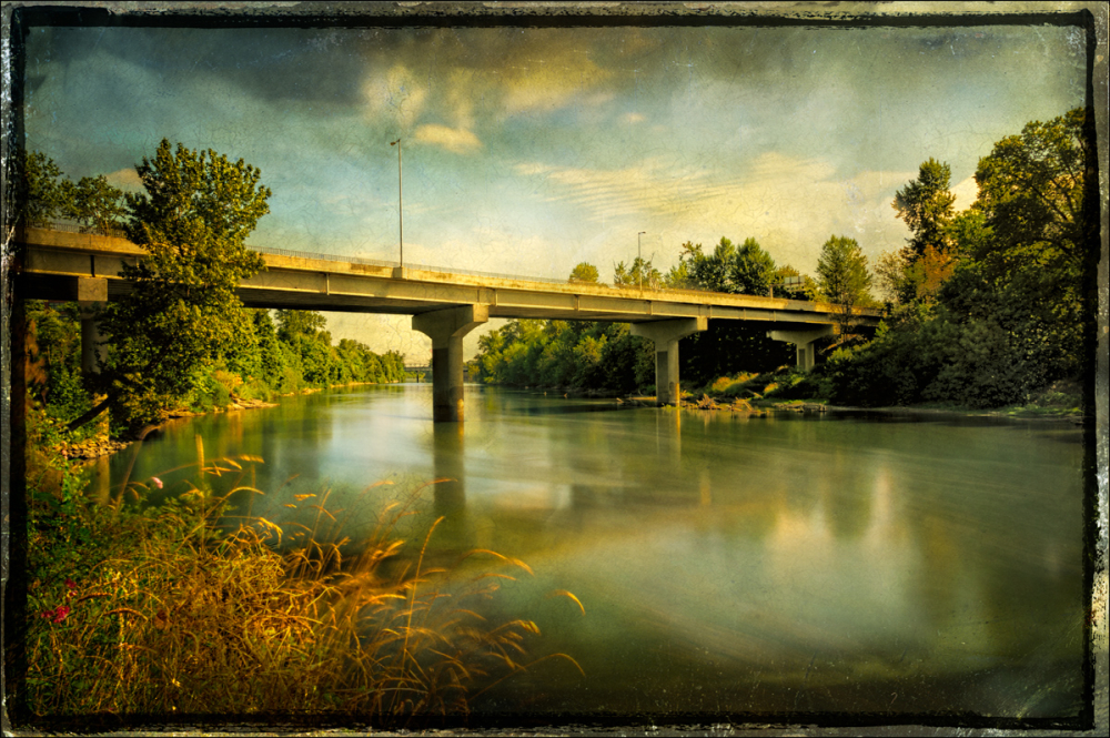 Summer Willamette, Corvallis (Texture}