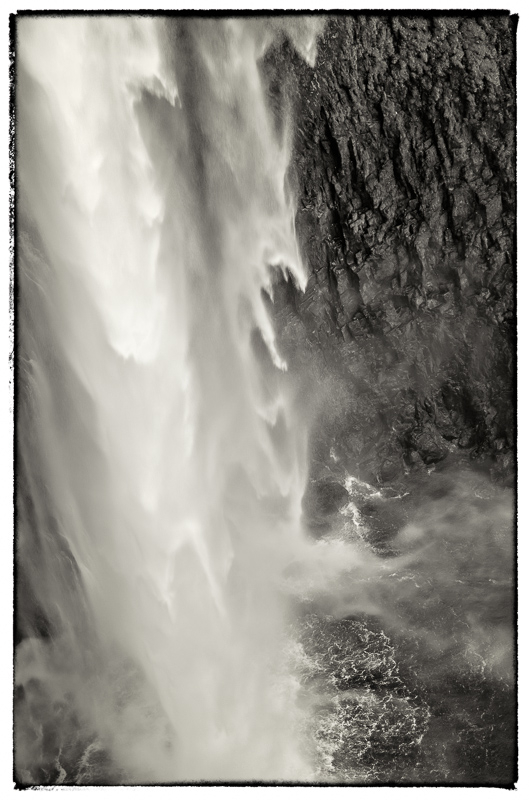 Salt Creek Falls B&W
