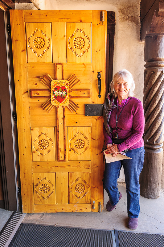 Pueblo Church Door