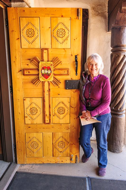 Pueblo Church Door