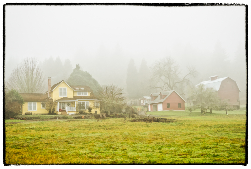 In the Fog (painterly)