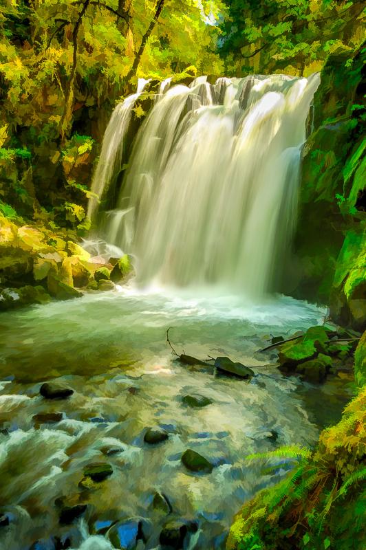 Impressionism #4 (Majestic Falls)