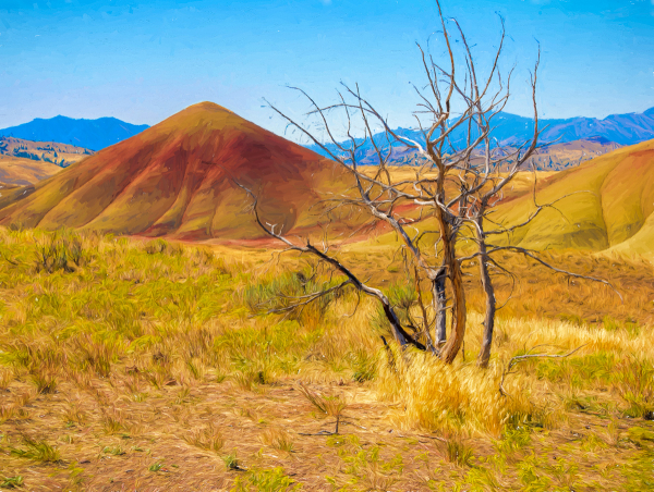 Painterly Painted Hills