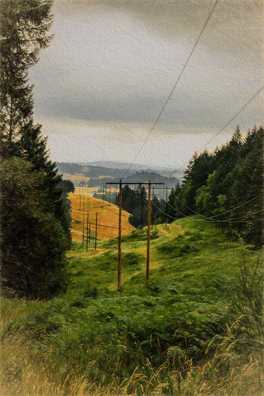 Power Lines (Topaz Impression, Cave Dweller)