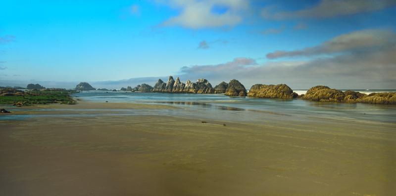 Seal Rock Beach Panorama