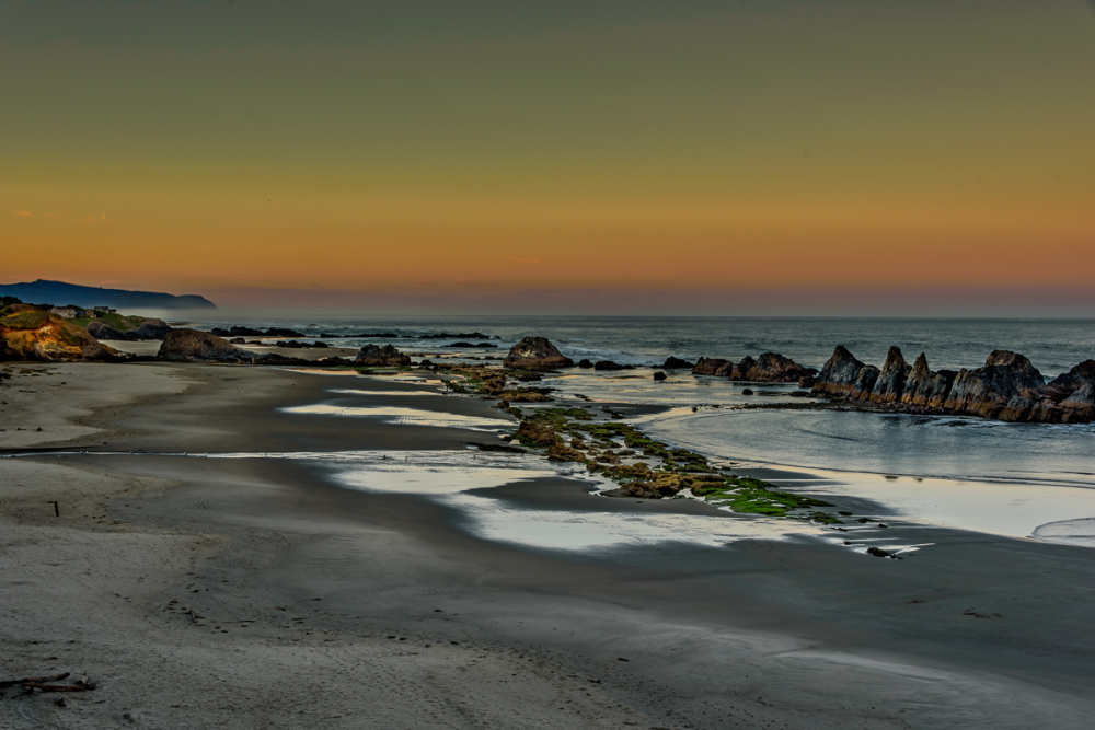 Seal Rock Beach (Blue Hour)
