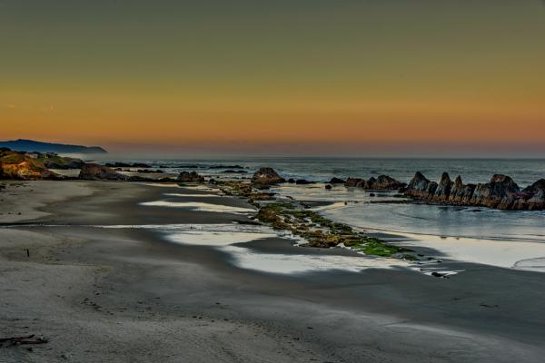 Seal Rock Beach (Blue Hour)
