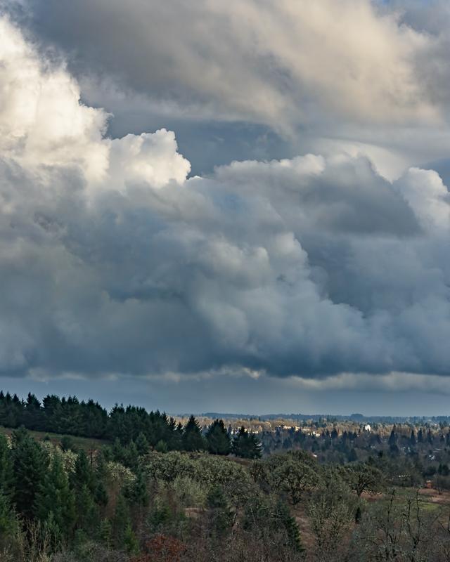 Clouds & City