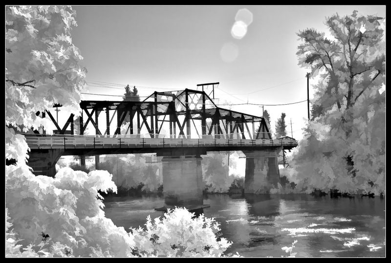 Van Buren St. Bridge IR (Topaz BuzSim)