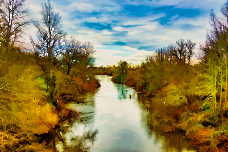 Mary's River Painterly