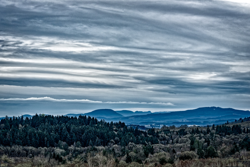 Layered Clouds (Toned)