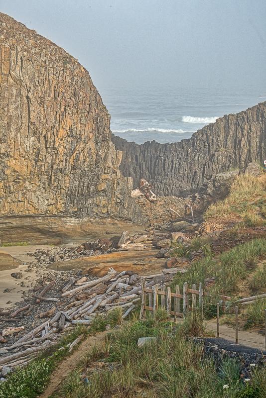 """""""Trail to Seal Rock Beach"""""""