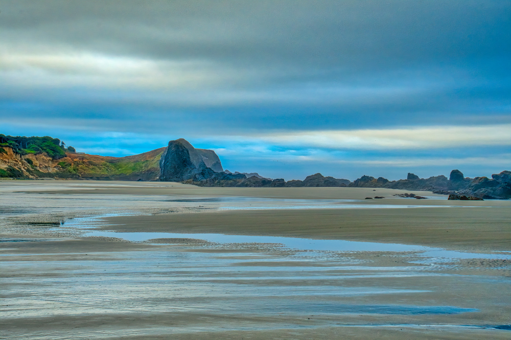 """North Seal Rock Early in the Morning"""