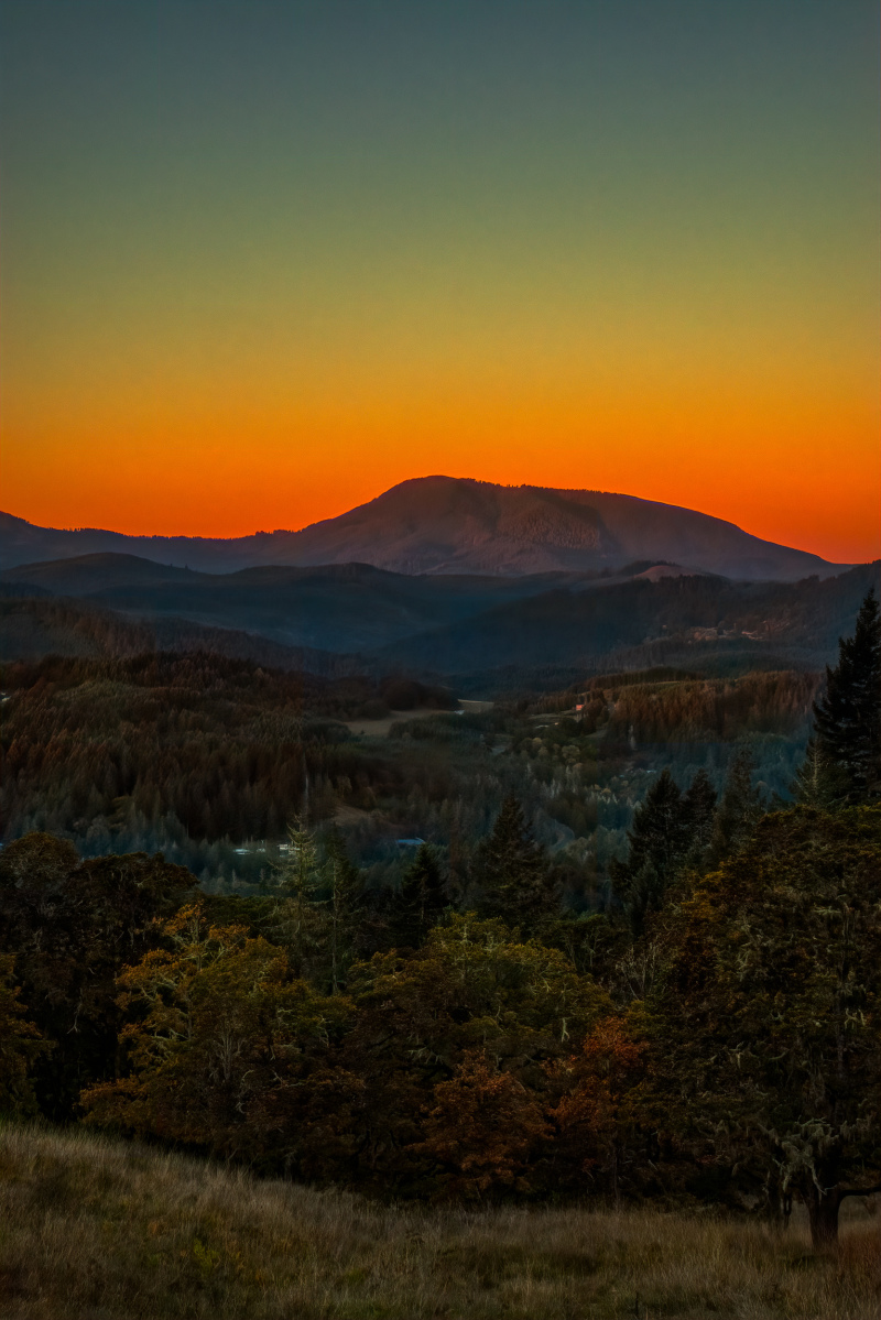 """Mary's Peak Sunrise"""