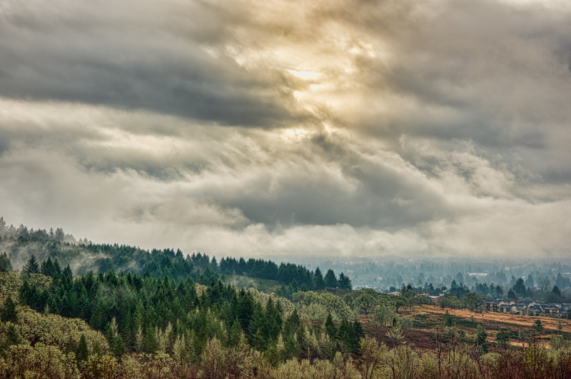 """Rain Over Corvallis"""