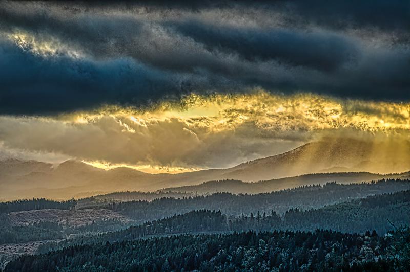 """Clouds, Sun, Rays, Shadows"""