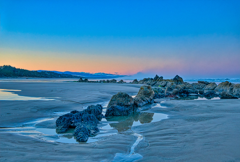 """Quail St. Beach, Looking South Before Sunrise"""