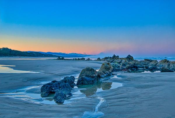 """""""Quail St. Beach, Looking South Before Sunrise"""""""