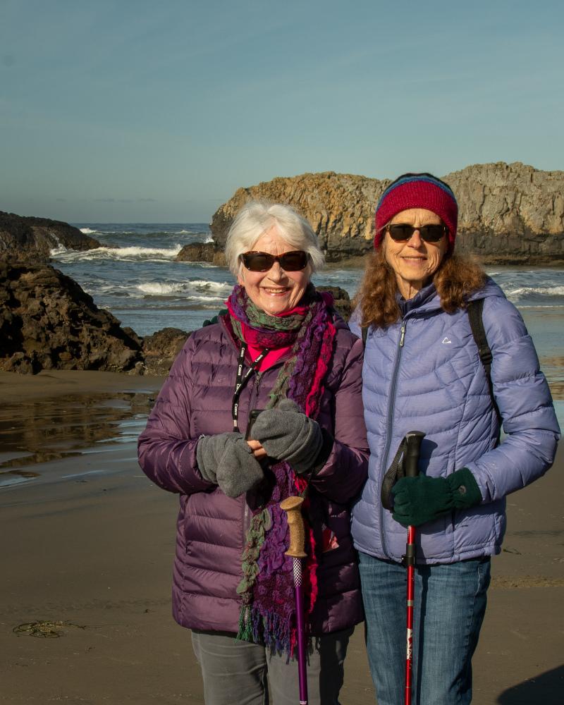 """""""Anne & Ellie at Quail St. Beach"""""""