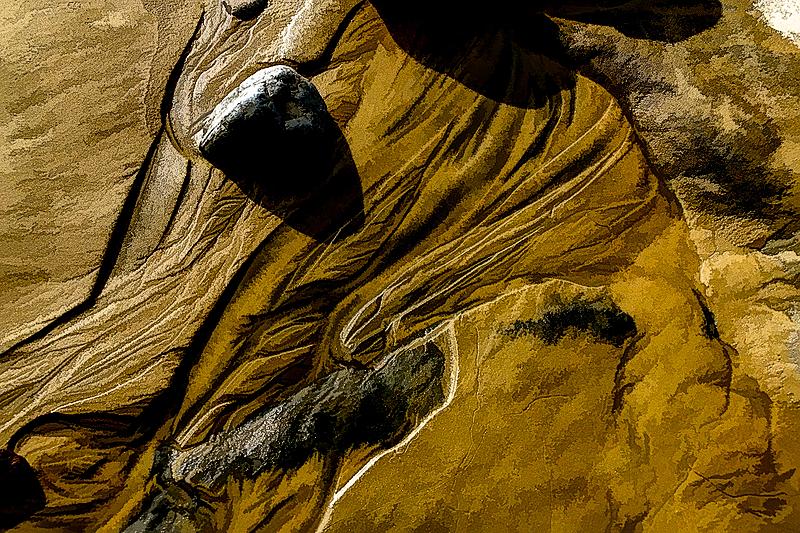 """Beach Art, Oil Painting"""
