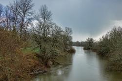 """""""Marys River in Winter"""""""