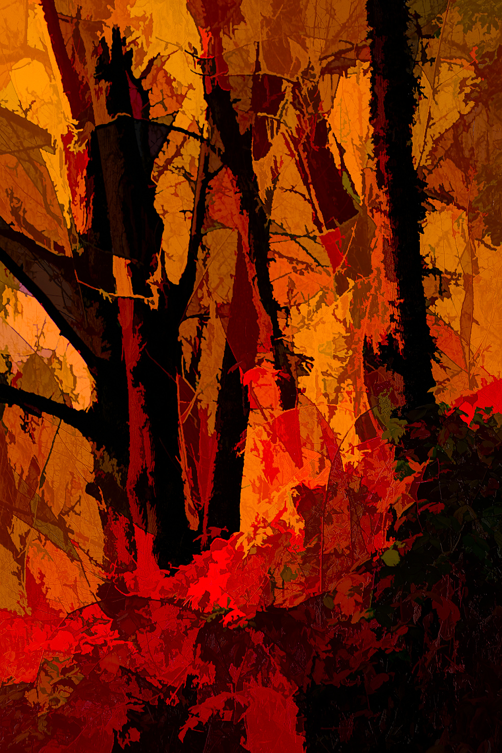 """""""Along the River, Abstract"""""""
