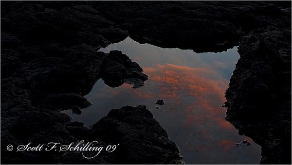 Lava, Sea, and Sky