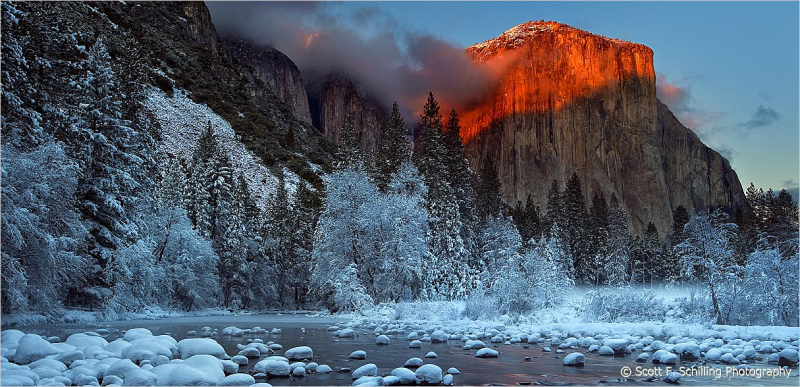Yosemite Alpen Glow   Last Light