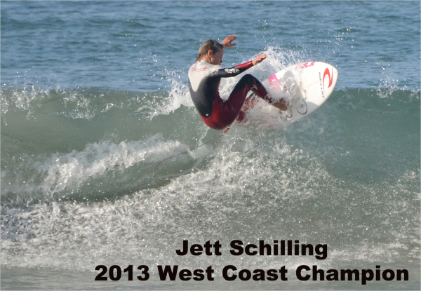Jett Schilling - West Coast Surf Champion