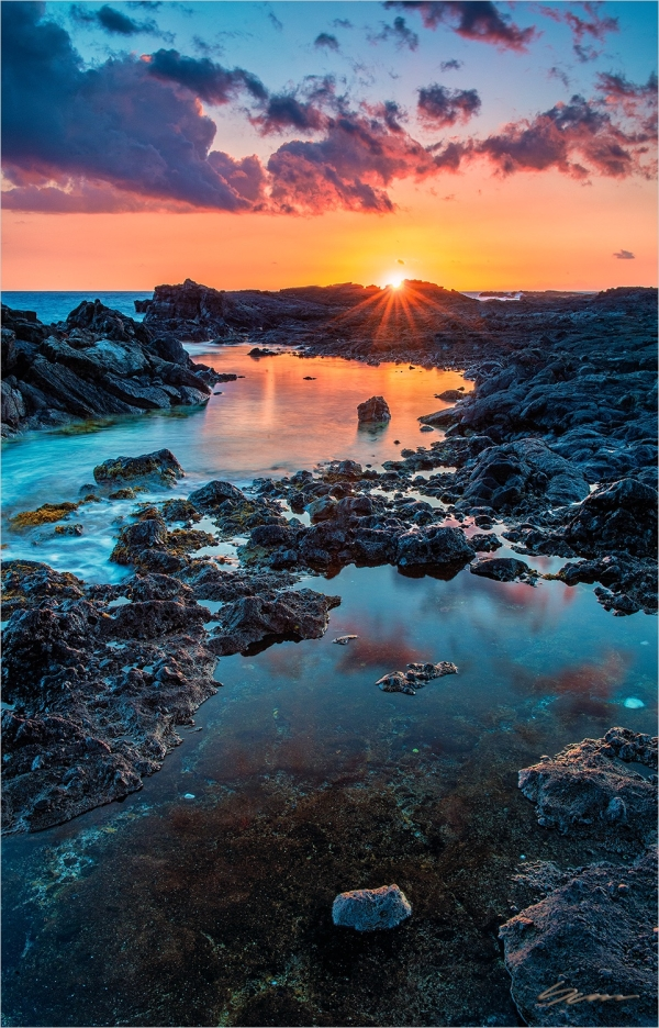 Big Island of Hawaii Sunset