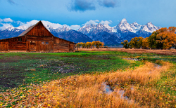 Mormon Barn   Grand Teton National Park