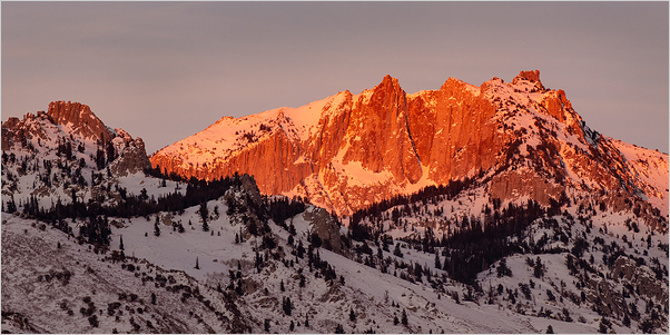 Lone Peak - Wasatch range