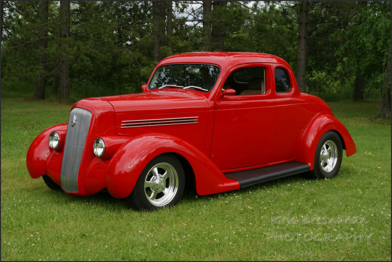 portrait of vintage car