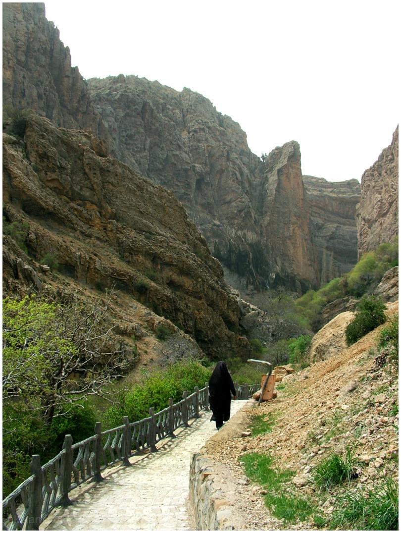 Mountainous way