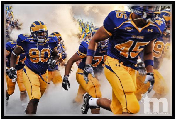 Univ. of Delaware's football season opening game
