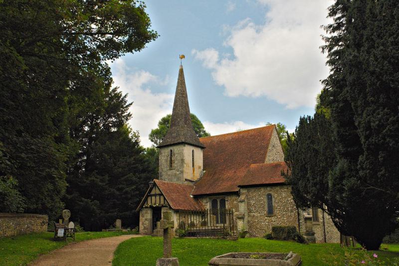 Church - Farthing Downs - Surrey