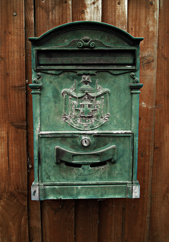 Elaborate Receptacle for Correspondence