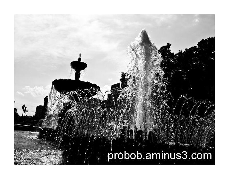 Fountain on Pushkin's Square II