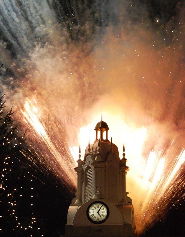 Xmas Fireworks 2