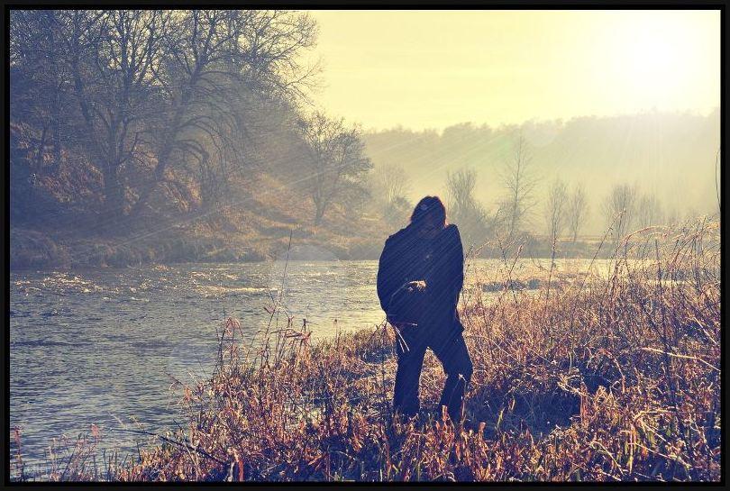 Frosty River Walk